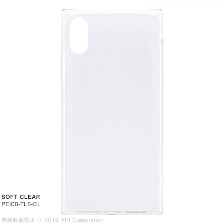 【iPhone XS/Xケース】EYLE TILE SOFT CLEAR iPhoneケース for iPhone XS/X【2月下旬】_0
