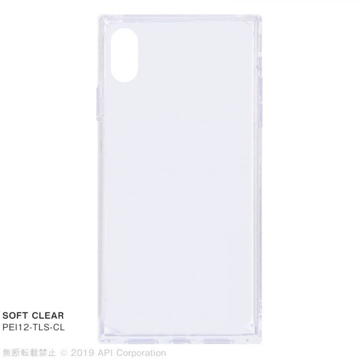 iPhone XS Max ケース EYLE TILE SOFT CLEAR iPhoneケース for iPhone XS Max_0