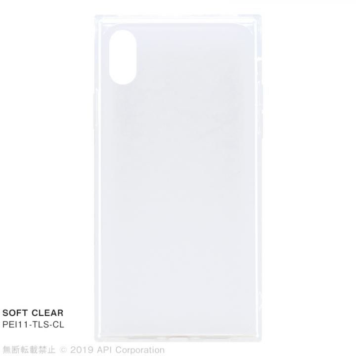 【iPhone XRケース】EYLE TILE SOFT CLEAR iPhoneケース for iPhone XR【2月下旬】_0