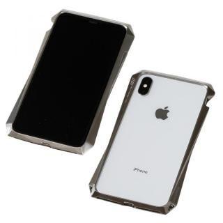iPhone XS/X ケース Deff CLEAVE Titanium Bumper 180 チタニウムシルバー iPhone XS/X
