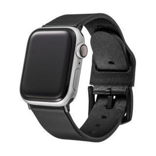 GRAMAS Genuine Leather Watchband for Apple Watch 44/42mm ブラック