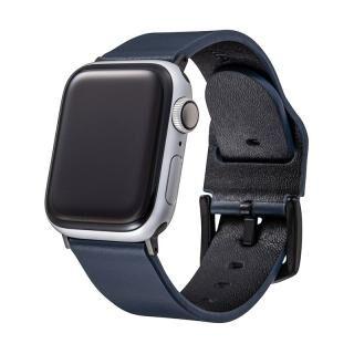GRAMAS Genuine Leather Watchband for Apple Watch 44/42mm ネイビー