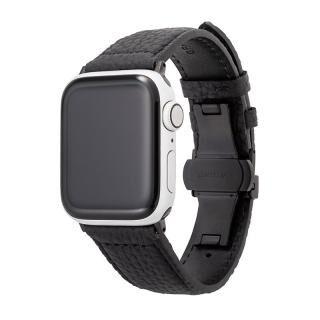 GRAMAS German Shrunken-calf Watchband for Apple Watch 40/38mm Black