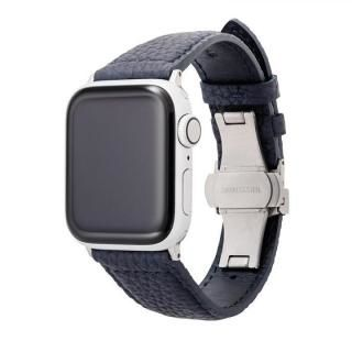 GRAMAS German Shrunken-calf Watchband for Apple Watch 40/38mm Navy