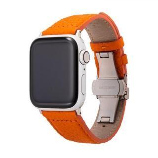 GRAMAS German Shrunken-calf Watchband for Apple Watch 40/38mm Orange