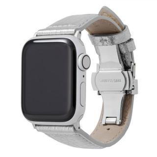 GRAMAS PikaPika Leather Watchband for Apple Watch 40/38mm Silver