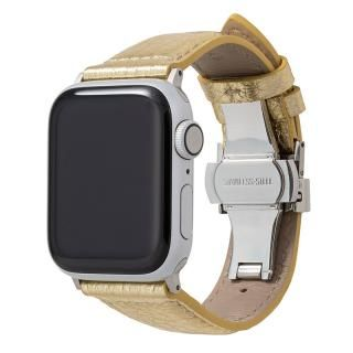 GRAMAS PikaPika Leather Watchband for Apple Watch 40/38mm Gold