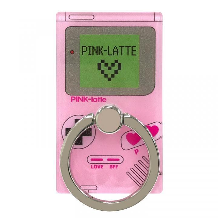 PINK-latte スマホリング 落下防止 ゲームダイカット_0