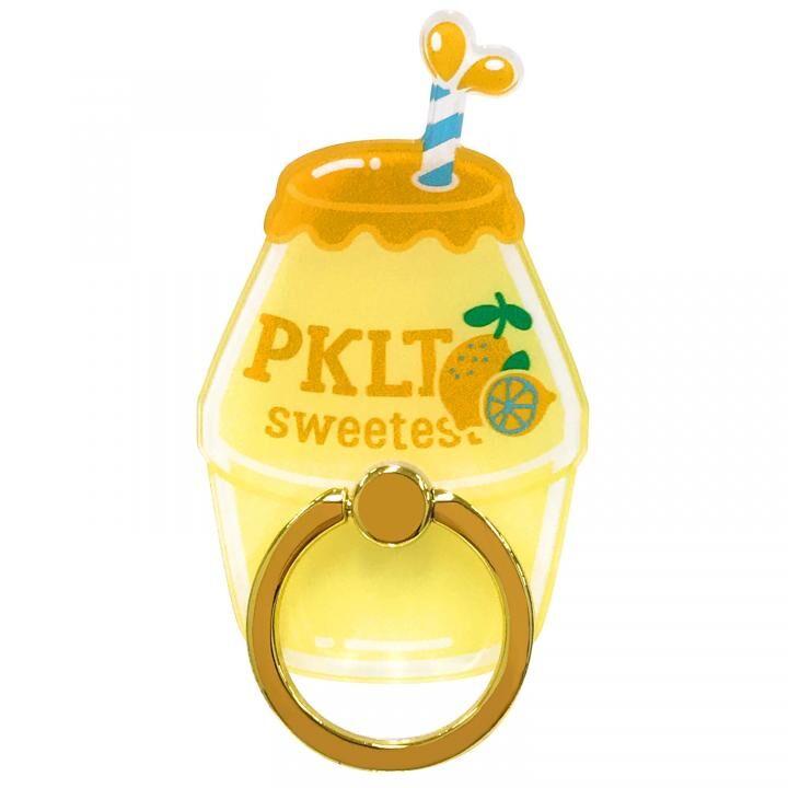 PINK-latte スマホリング 落下防止 レモンダイカット_0