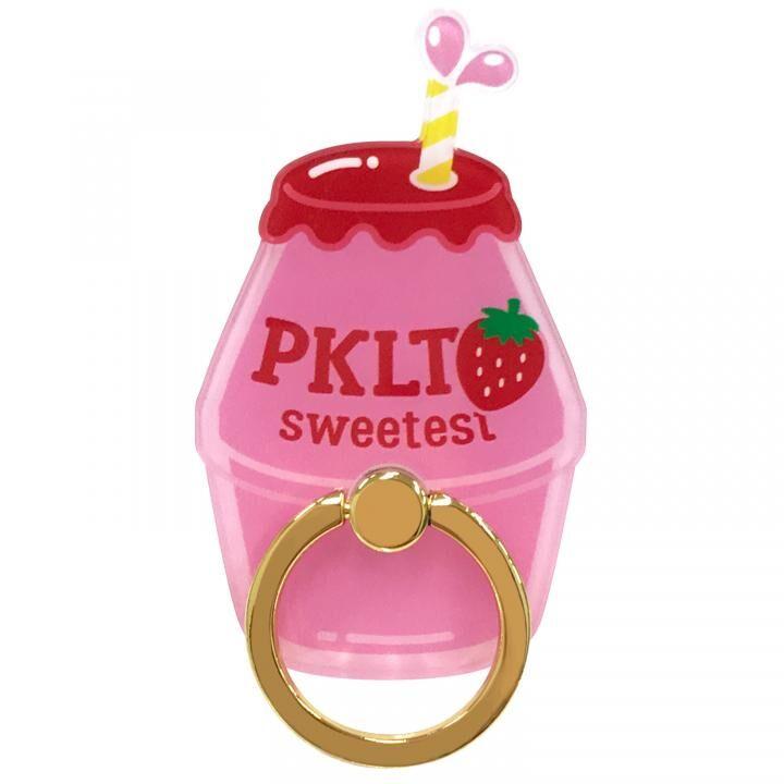 PINK-latte スマホリング 落下防止 ストロベリーダイカット_0