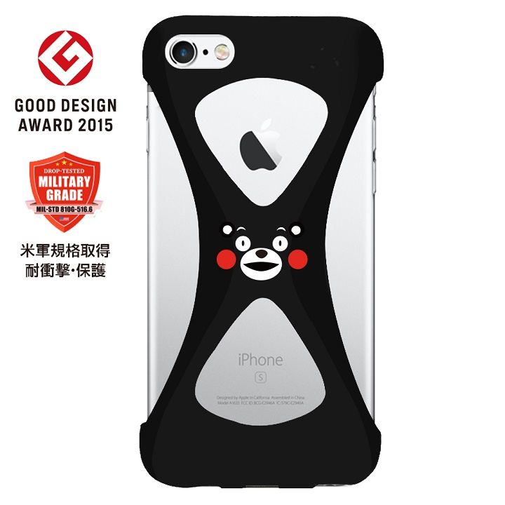 iPhone6s Plus/6 Plus ケース Palmo 落下防止シリコンケース くまモンばーじょん iPhone 6s Plus/6 Plus_0