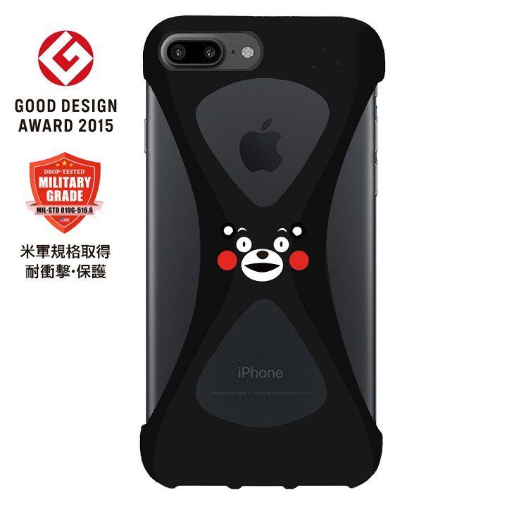 iPhone8 Plus/7 Plus ケース Palmo 落下防止シリコンケース くまモンばーじょん iPhone 8 Plus/7 Plus_0