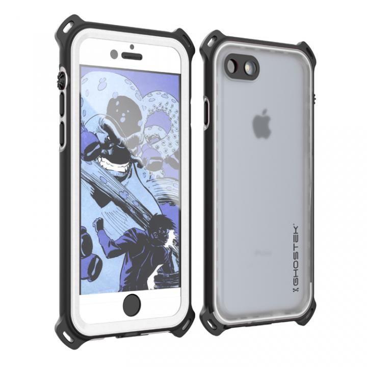 耐衝撃 IP68防水ケース Ghostek Nautical ホワイト iPhone 7
