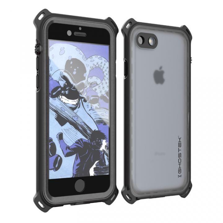 耐衝撃 IP68防水ケース Ghostek Nautical ブラック iPhone 7