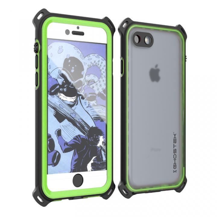 iPhone7 ケース 耐衝撃 IP68防水ケース Ghostek Nautical グリーン iPhone 7_0