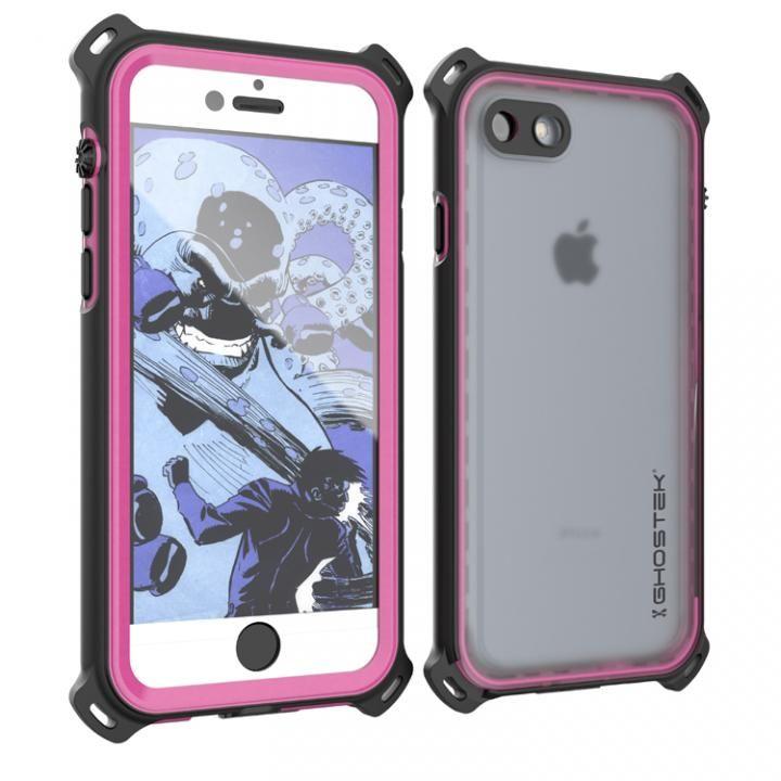 iPhone7 ケース 耐衝撃 IP68防水ケース Ghostek Nautical ピンク iPhone 7_0