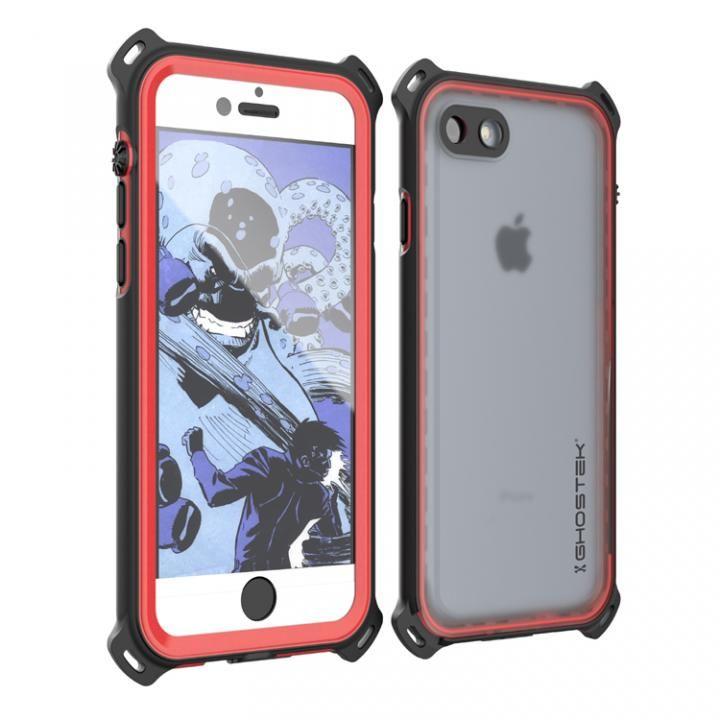【iPhone7ケース】耐衝撃 IP68防水ケース Ghostek Nautical レッド iPhone 7_0