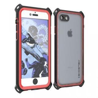 【iPhone7ケース】耐衝撃 IP68防水ケース Ghostek Nautical レッド iPhone 7