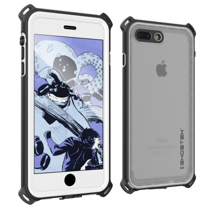 【iPhone7 Plusケース】耐衝撃 IP68防水ケース Ghostek Nautical ホワイト iPhone 7 Plus_0