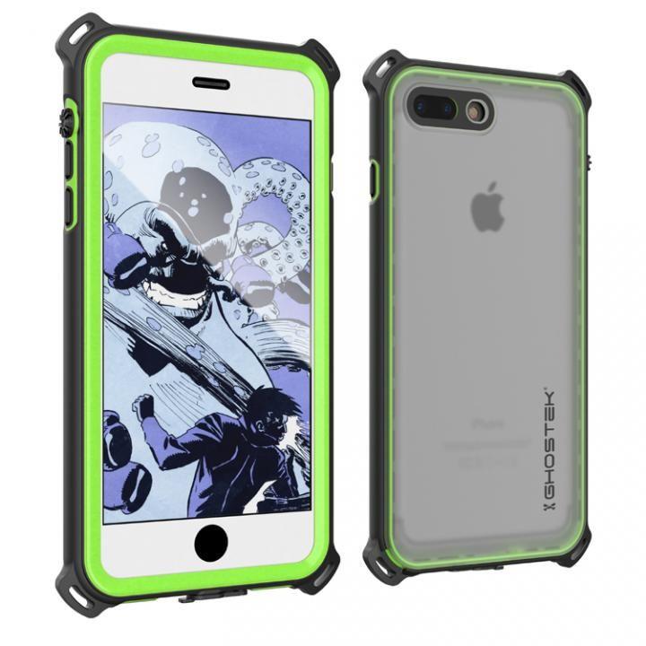 【iPhone7 Plusケース】耐衝撃 IP68防水ケース Ghostek Nautical グリーン iPhone 7 Plus_0