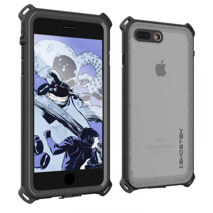 【iPhone7 Plusケース】耐衝撃 IP68防水ケース Ghostek Nautical ブラック iPhone 7 Plus_0