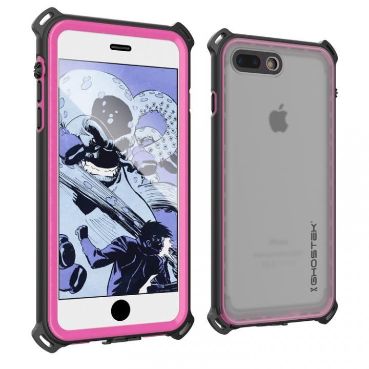iPhone7 Plus ケース 耐衝撃 IP68防水ケース Ghostek Nautical ピンク iPhone 7 Plus_0
