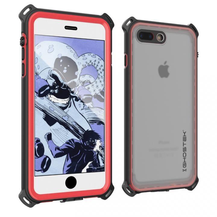 iPhone7 Plus ケース 衝撃 IP68防水ケース Ghostek Nautical レッド iPhone 7 Plus_0