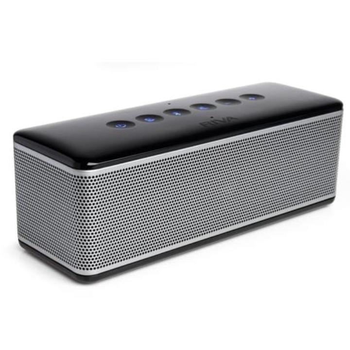 RIVA S プレミアムワイヤレス Bluetoothスピーカー ブラック_0