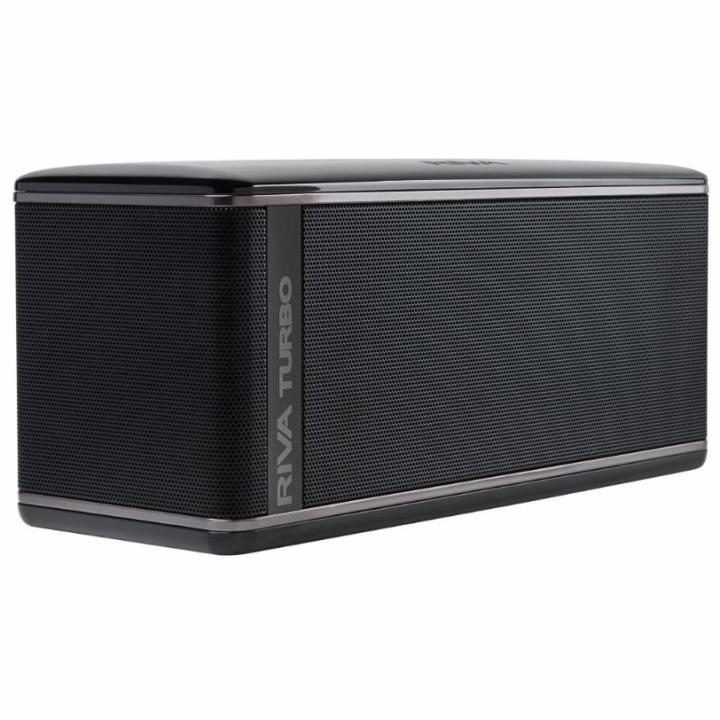 RIVA TURBO X プレミアムワイヤレス Bluetoothスピーカー ブラック