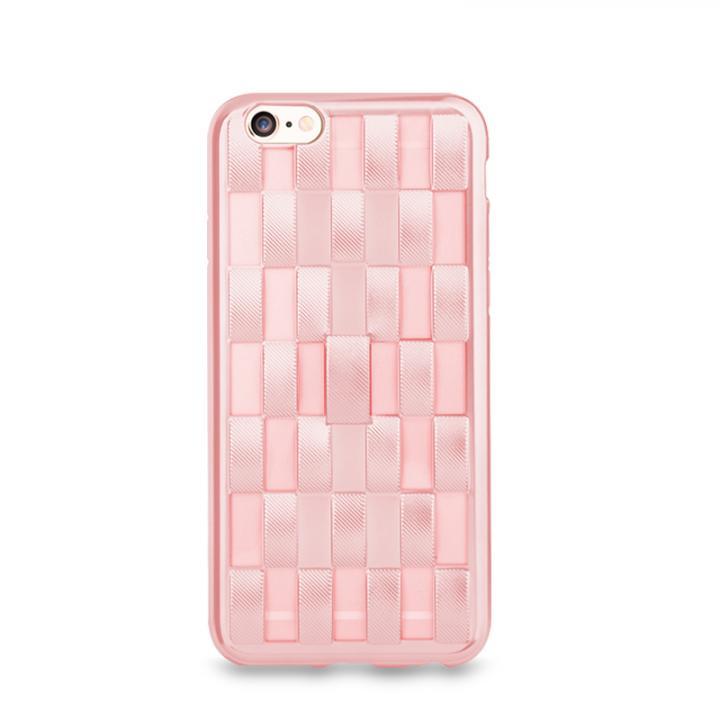 iPhone6s/6 ケース フィンガーバンド付きケース Joyroom ローズピンク iPhone 6s/6_0