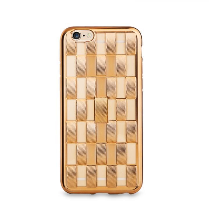 【iPhone6s/6ケース】フィンガーバンド付きケース Joyroom ゴールド iPhone 6s/6_0