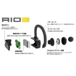 IPX5 完全ワイヤレスイヤホン Rio3 シルバー_5