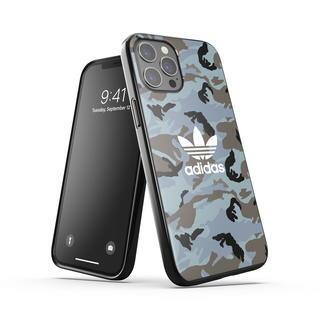 iPhone 12 Pro Max (6.7インチ) ケース adidas originals Snap Case Camo AOP SS21 Hazy Emeralds/Blue oxides iPhone 12 Pro Max