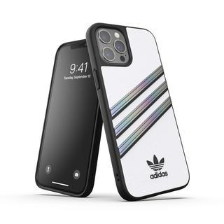 iPhone 12 Pro Max (6.7インチ) ケース adidas originals Samba Woman SS21 White/Holographic iPhone 12 Pro Max