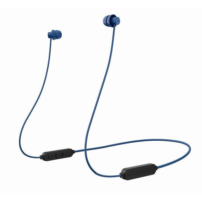 極小Bluetoothイヤホン ディープブルー_0
