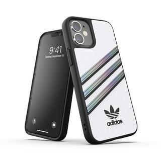 iPhone 12 mini (5.4インチ) ケース adidas originals Samba Woman SS21 White/Holographic iPhone 12 mini【4月上旬】