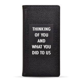 iPhone 12 mini (5.4インチ) ケース rienda 手帳ケース THINKING ブラック iPhone 12 mini