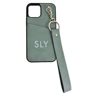 iPhone 12 / iPhone 12 Pro (6.1インチ) ケース SLY Die cutting_Case blue iPhone 12/12 Pro