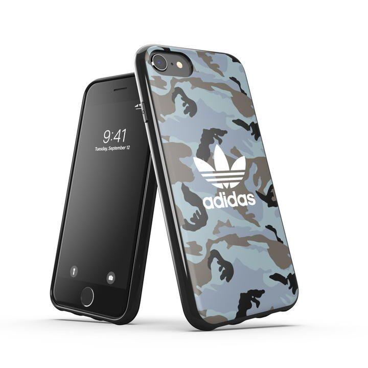 iPhone8/7 ケース adidas originals Snap Case Camo AOP SS21 Hazy Emeralds/Blue oxides iPhone SE 2/8/7/6s/6_0