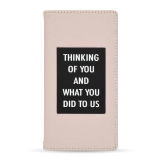 iPhone 12 mini (5.4インチ) ケース rienda 手帳ケース THINKING ピンク iPhone 12 mini