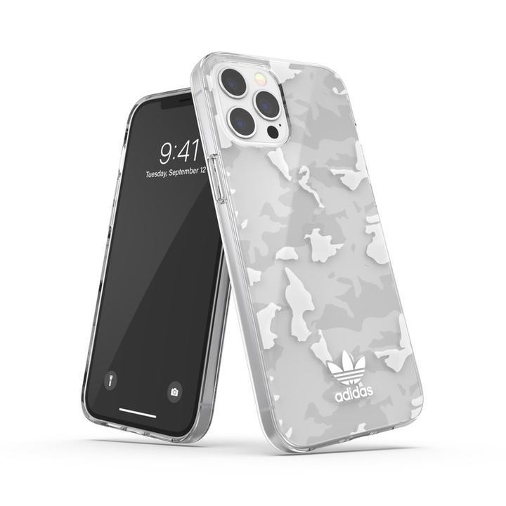 adidas originals Snap Case Camo AOP SS21 Clear/White iPhone 12 Pro Max_0
