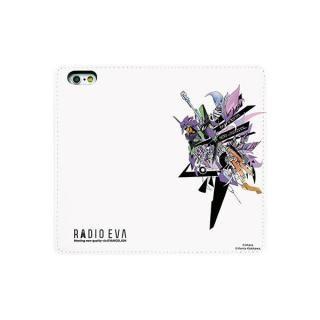 【iPhone6s/6ケース】RADIO EVA 手帳型ケース SHINJI iPhone 6s/6_3