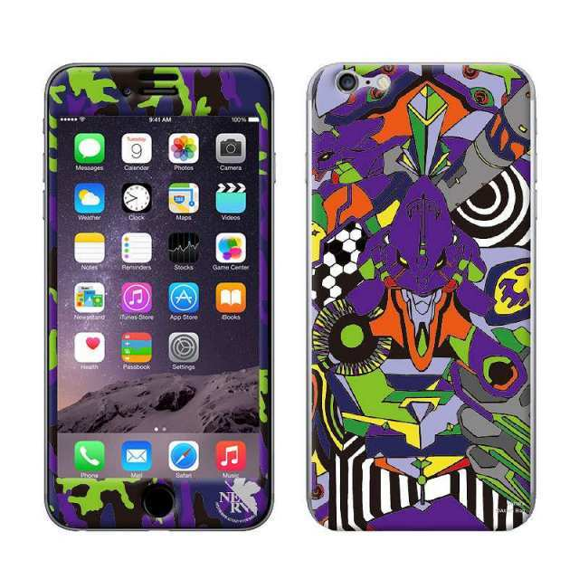 【iPhone6s/6ケース】RADIO EVA スキンシール EVA-01 MODEL iPhone 6s/6_0