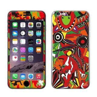 【iPhone7ケース】RADIO EVA スキンシール EVA-02 MODEL iPhone 7