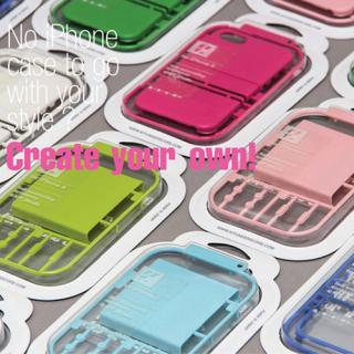 iPhone5/5s プラモデルケース Bパーツ ソフトグリーン