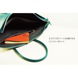 イタリアンレザー トートバッグ MLC Leather Tote ブラック(ネロ)_1
