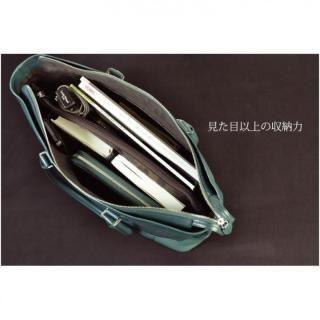 イタリアンレザー トートバッグ MLC Leather Tote ブラック(ネロ)_3