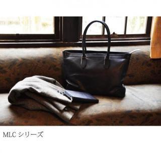 イタリアンレザー トートバッグ MLC Leather Tote ブラック(ネロ)_7