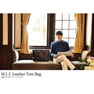 イタリアンレザー トートバッグ MLC Leather Tote ブラック(ネロ)_8