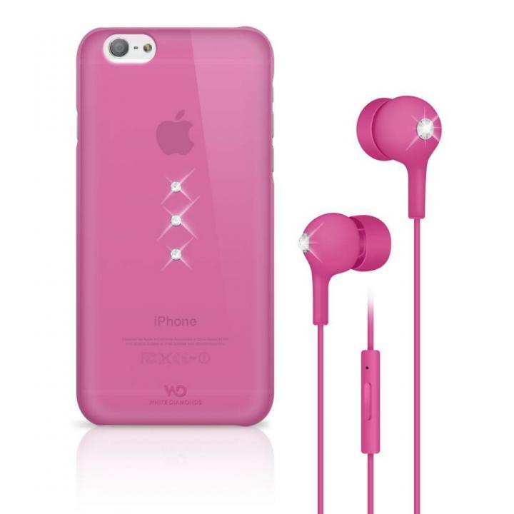 Crystal Earphone Bundle ピンク iPhone 6 ケース